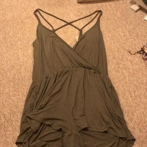 American Eagle Criss Cross Romper